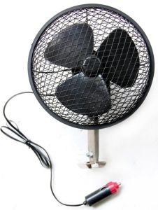 "6"" with Cigarette Lighter Plug Spray Plastic Car Fan pictures & photos"