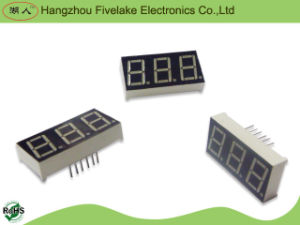 0.56 Inch Triple Digits 7 Segment LED Display (WD05631-A/B) pictures & photos