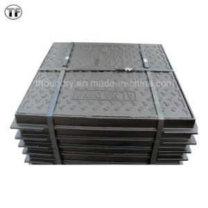 Square Medium Duty Manhole Cover for Carriage Way
