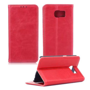 Cell Mobile Wallet Leather Phone Case for Samsung Galaxy S6