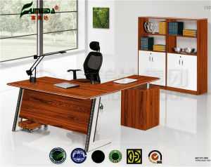 MFC Modern High End Metal Frame Office Table pictures & photos