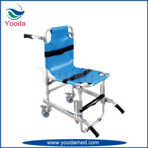 Aluminum Alloy Folding Stair Stretcher with PVC Seat pictures & photos