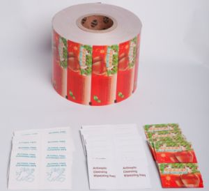 Aluminium Foil Paper for Antiseptic Prep Pads pictures & photos