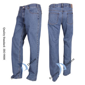 Men′s Leisure Jeans, Cotton Jeans (PJ1202)