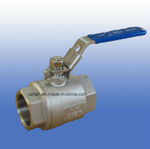 Stainless Steel 2PC Heavy Full Port Ball Valve 1000wog pictures & photos