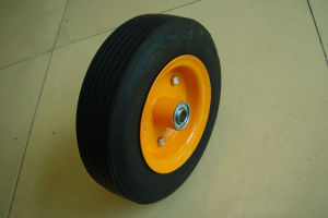 Trolley Cart Solid Rubber Wheel 8X2