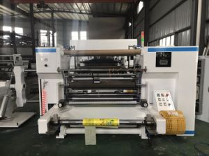 Plastic Film Slitting Machine for BOPP, PVC, Pet, PE pictures & photos