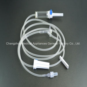 Medical Disposable Infusion Set with ISO13485, CE, GMP, SGS, TUV pictures & photos