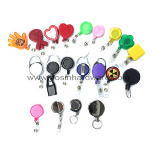 Star Shaped Plastic Rectractable Badge Reel pictures & photos