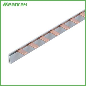 Electric Copper Pin Type Copper Busbar for C45 Circuit Breaker Neutral Busbar