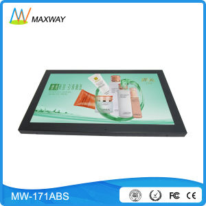 17 Inch LCD Advertising Player with 16: 9 Resolution 1600*900 (MW-171ABS) pictures & photos