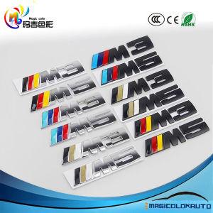 China For Bmw M Emblem M Badge Sticker Car Auto Trunk Metal Decal