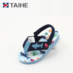 a4c87163f China Kids Sandals EVA Beach Shoe Rubber Baby Slippers - China Flip ...