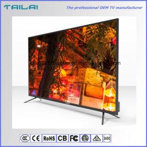 Home 75 Inch UHD 4K Super Slim Flat Screen LED TV with HDMI USB VGA