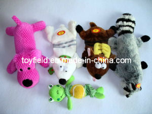 Pet Toy Dog Racoon Real Life Squeaky Pet Toy pictures & photos