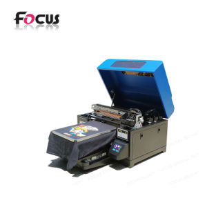 Digital DTG T Shirt Printer Flatbed Textile Printing Machine pictures & photos