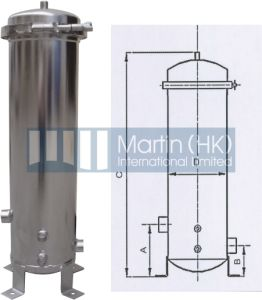 V-Clamp Stainless Steel Multi-Cartridge Filter Housings for Water Filtration pictures & photos