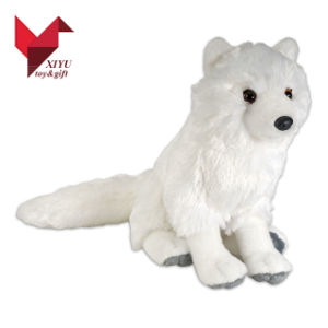 China Super White Plush Wolf Animal China Plush Toy Plush Animal