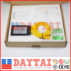 Box Type 3mm Fiber Optical 1*16 PLC Splitter with Sc/APC Connector pictures & photos