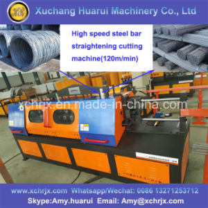 120m/Min High Speed Rebar Straightening and Cutting Machine for Sale pictures & photos