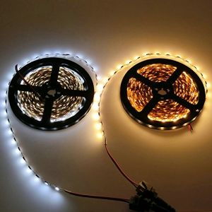 DC24V/12V White, Warm White LED Flexible Strip for Decoration