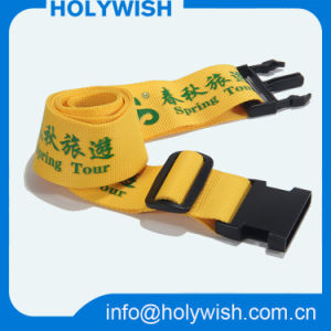High Qualiy Custom Deisgn Embroidered Luggage Straps