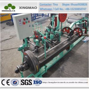 China Factory ISO9001 PVC Coated Wire and Galvanized Wire High Speed Barbed Wire Machine (XM2) pictures & photos