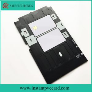 Plastic PVC Card Tray for Epson R285 Printer pictures & photos