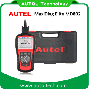 100% Original Autel Md802 All System Ds Model Car Scanner ABS Airbag Oil Service Reset Autel Maxidiag Elite Md802 Auto Code Reader pictures & photos