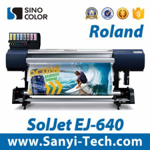 Inkjet Printing Machine Digital Printer Roland Soljet Ej-640 Arge Format Printer Digital Printing Machine pictures & photos