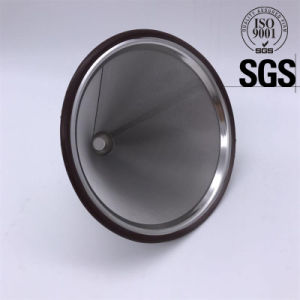 Silicone Edge Metal 304 Stainless Steel Coffee Filter pictures & photos