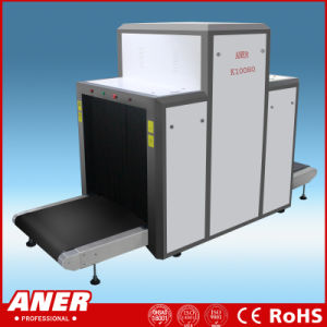 Big Size 1000X800mm X Ray Luggage Cargo Scanner Inspection Machine K10080 Load of 200kg 17inch LCD display pictures & photos