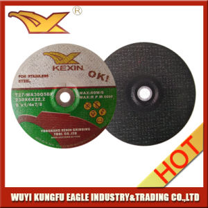 230X6X22.2 Depressed Grinding Wheel for Stainless Steel pictures & photos