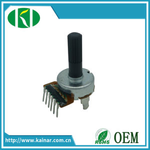 17mm Rotary Potentiometer with Insulated Shaft Wh0172-1 pictures & photos