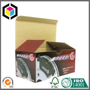 Large Self Locking Bottom Color Print Corrugated Carton Box