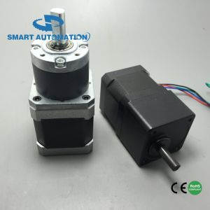NEMA 17 Gear Reducer Stepper Motor, Planetary and Spur Gearbox