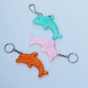 Roadside Reflector Keychain, Keychain for Promotion Gifts (JG-T-18)