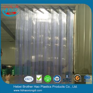Easy Installation Flexible Clear Plastic Strip Curtain