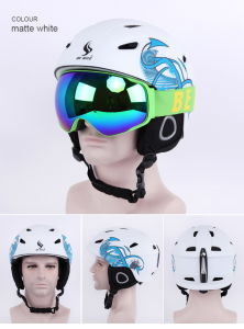 Colorful Conmfort PC Shell EPS Foam Ski Helmet From Chinese Factory pictures & photos