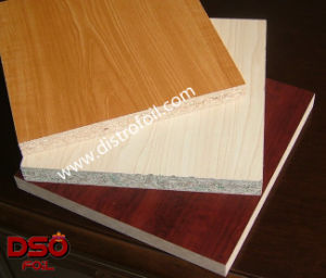 Wood Grain Hot Stamp Foil on Medium Density Fiberboard (MDF) pictures & photos