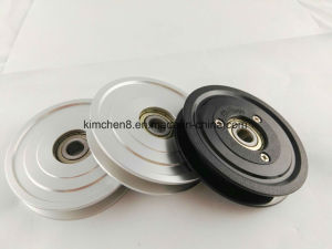 Aluminum Combination Pulley with Ceramic Coating pictures & photos