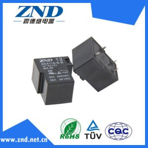 Zd4115 (T90) 4 Pin Nornally Close Type Power Relay Use for Household Appliances &Industrial