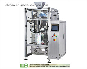 Vertical Filling Automatic Granule Soyabean Packing Machine with Multihead Weighter