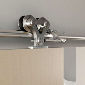 Easy Operation Mirrored Sliding Door Hardware Accessories