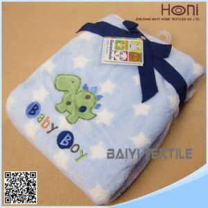 China Factory Price Baby Blanket Coral Fleece Baby Hooded Towel
