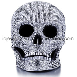 High End 316 Stainless Steel Metal Craft Big Decorative Skull pictures & photos