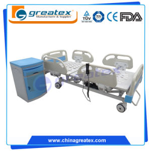 Full Size Electric Hospital Beds with Central Braking System