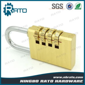 Top Security Digital Brass Combination Padlock