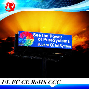 2016 Popular P10 Full Color Waterproof Outdoor LED Display pictures & photos