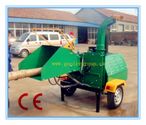 CE 40HP Diesel Wood Chipper Shredder (Mobile/ATV Wood Chippers) pictures & photos